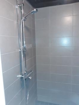 Marraskuussa -20 Uusittu suihkutila